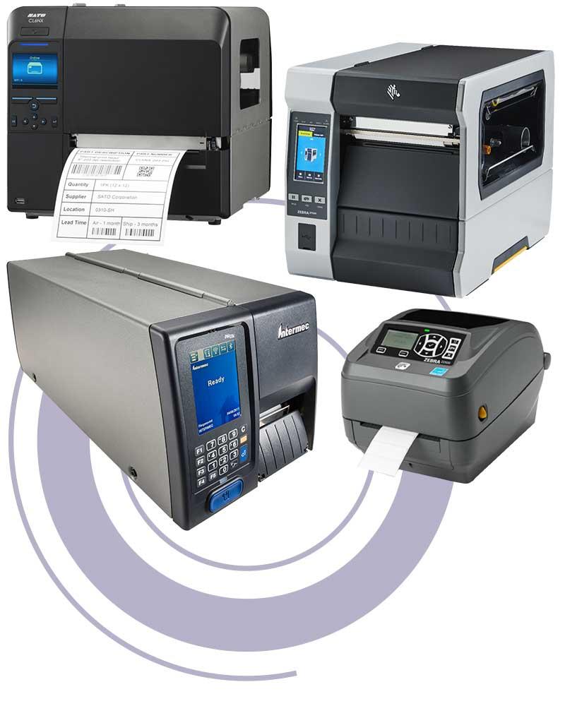 Forskjellige printere
