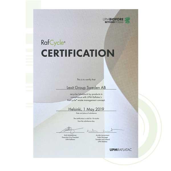 Et sertifikat for miljøengasjement