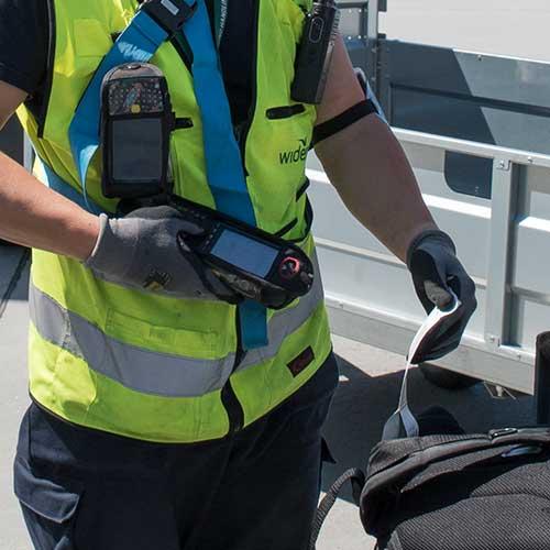 flyansatt scanner bagasje