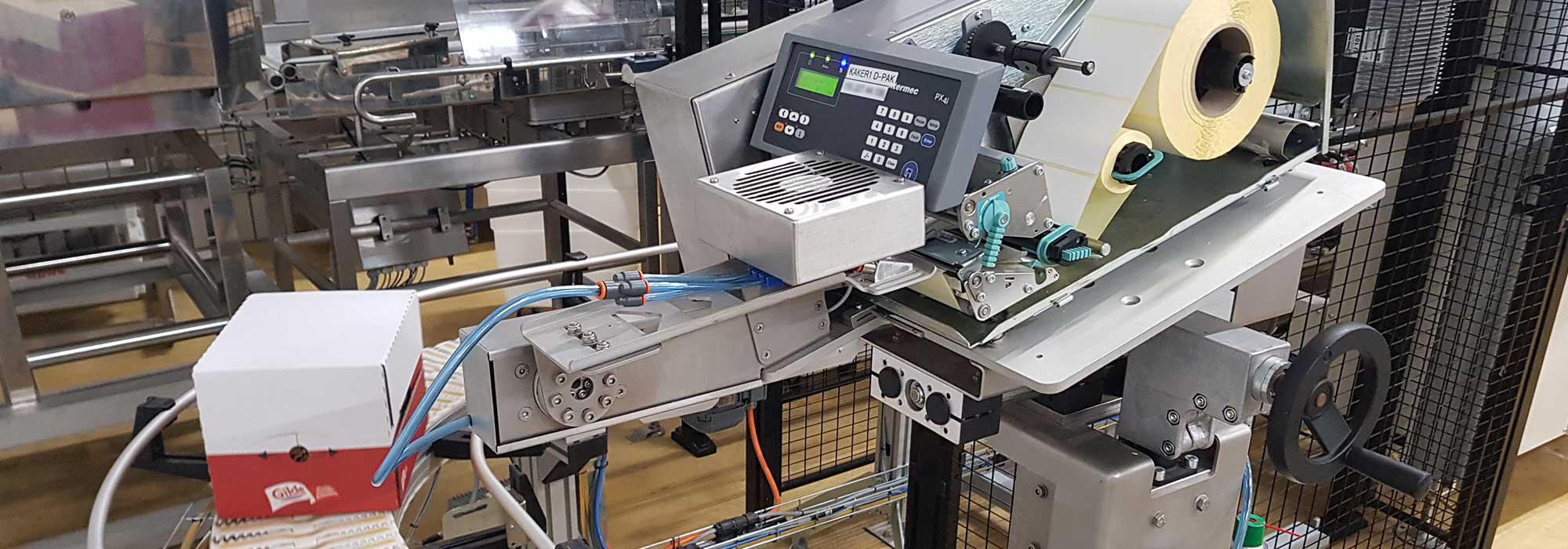 Maskiner i et produksjonsanlegg