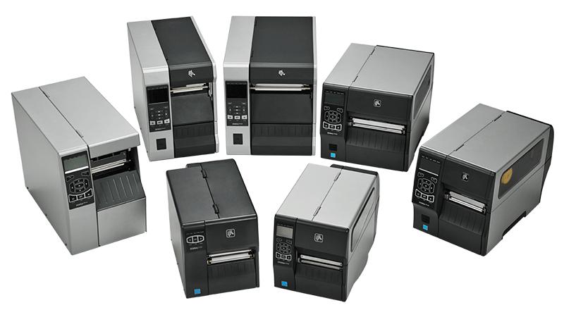Gruppebilde av printere